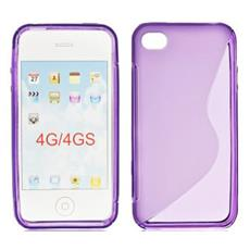 BT-TPU-AIP4VVS Cover Viola custodia per cellulare