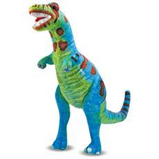 Melissa & Doug T-Rex Dinosauro Felpato Multicolore