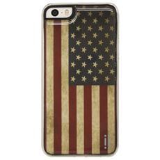 Gel Sticker Case per iPhone 5/5s e iPhone SE - Flag USA