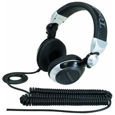 Cuffie con Microfono Cablato RPDJ1210 Colore Nero Argento