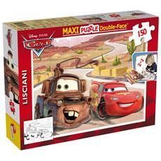 46744 - Puzzle Double-Face Supermaxi Cars 150 Pz