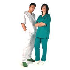 Pantaloni Cotone - Verdi - S