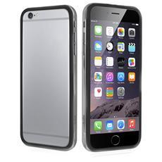 Cover Bumper In Pvc Trasparente, Colore Nero Per Iphone 6 Plus