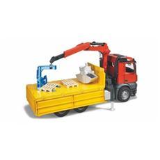 Camion MB Arocs ribaltabile con Gru e Pallet (2014) 03651