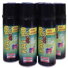 Smalto Spray Antichizzante col. Grigio Peltro Arexons art. 2720 400 ml cf. 6 Pz