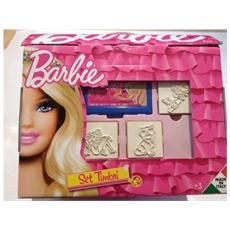 Casetta Barbie Timbra e Colora in Legno