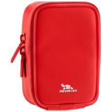 Custodia per Fotocamera Compatta in Poliuretano Rosso RIVA-1400-RED-LRPU
