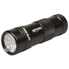 Torcia A 12 Led Uv Flash Splc95uv Unica Nero
