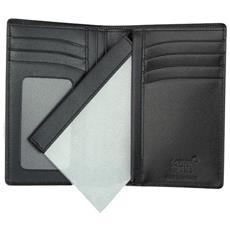 8abf945b18 MONTBLANC - Portafoglio Porta Documenti A Vista Meisterstuck 35798