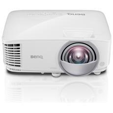 VIDEOPROIETTORE BENQ MX808ST Ottica Corta DLP XGA 3000/12.000:1 3D via HDMI Lampada 15.000h (modalità ECO)