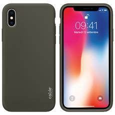 Ivelvet Dark Olive For Iphone X, Custodia Case Cover Apple Iphone X Protezione E Design, Materiali Di Alta Qualità, Silicone Liquido Piacevole A Tatto Resistente A Urti