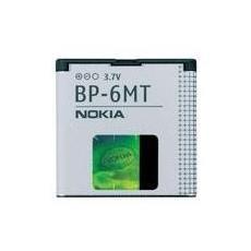 Original Nokia BP-6MT Battery, GPS / PDA / Mobile phone, 3,7V, Bianco