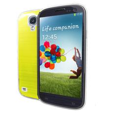 pc cover fluo galaxy s4 yellow
