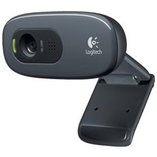 Webcam C270 HD 5Mpx Microfono USB 2.0 Nero
