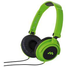 Cuffie Smart Fluo Verde Microfon