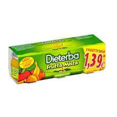 Omo Diet. frutta Mista 3x80g
