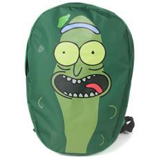 Rick And Morty: Pickle Rick Shaped Backpack Green (zaino)