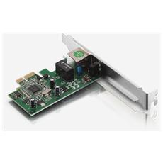AD1103, Acciaio inossidabile, Cablato, 10/100/1000BaseT (X) , 10, 100, 1000 Mbit / s, PCI-E, IEEE 802.3, IEEE 802.3ab, IEEE 802.3u