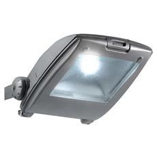 LED-TITAN / 10W - Faro per esterno a led Argento Titan 10 Wat