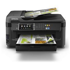 EPSON - WorkForce WF-7610DWF Stampante Multifunzione Stampa Copia Scansione Fax Inkjet a Colori A3+ 32 Ppm...