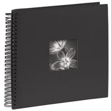Fine Art spirale nero 36x32 50 pagine nere 090140