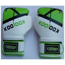 Guantoni Da Boxe Koolook Pro Line In Colore Verde, Alta Qualità 10 Oz. Guantoni Da Boxe Koolook Pro Line In Colore Verde, Alta Qualità 10 Oz. Guantoni Professionali Da Boxe - Fitboxe - Kickboxing 10