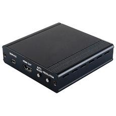 Video Scaler Da Vga A Hdmi Convertire Un Segnale Video Analogico Da Una Sorgente Pc In Un Segnale Video Digitale Hdmi.