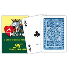 Poker 98 Blu - Carte Da Gioco