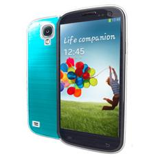 cover fluo galaxy s4 cyan