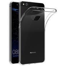 Cover Huawei P10 Lite, Digital Bay Cover Huawei P10 Lite [ tpu Shock-absorption] **capsule**crystal Clear** Assorbimento Di Scossa Chiaro Tpu Goccia Protezione, Custodia Huawei P10 Lite