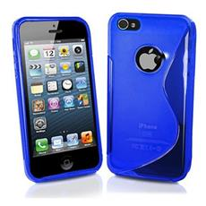 BT-TPU-AIP5LS Cover Blu custodia per cellulare
