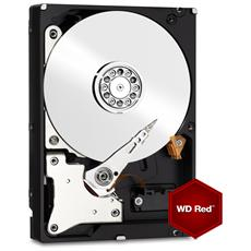 "Hard Disk per NAS WD Red 2 TB 3.5"" Interfaccia Sata III 6 Gb / s Buffer 64 Mb Intelli Power"