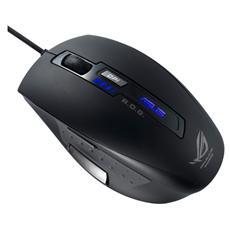 Mouse Gaming Rog GX850 USB 5000 Dpi Nero