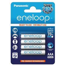 1x4 Panasonic Micro AAA 750 mAh - Europa