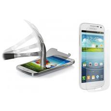 Pellicola Trasparente Vetro Smartphone Protegge Schermo Samsung S4 Mini
