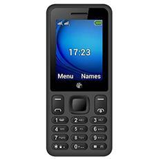 """B2 Nero Dual Sim Display 2.4"""" SOS Slot MicroSD e Bluetooth Fotocamera 3Mpx - Europa"""