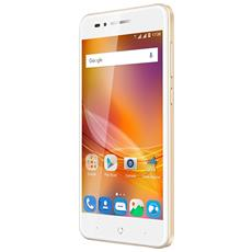 "Blade A612 Oro 16 GB 4G / LTE Dual Sim Display 5"" HD Slot Micro SD Fotocamera 13 Mpx Android Europa"