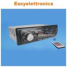 Stereo Auto Bluetooth Autoradio Fm Mp3 Usb Sd Aux 45wx4 6249 Offerta
