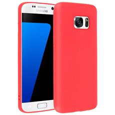 Cover Galaxy S7 Soft Touch Silicone Gel Morbido - Rossa