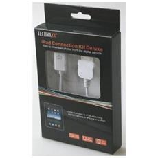 Ipad Connection Kit De Luxe, 2.0, USB A, Apple 30-p, 76g, USB A, 1 pezzi