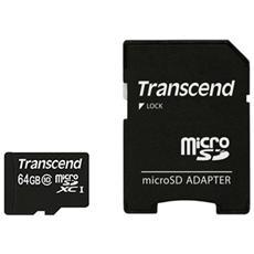 MicroSDXC da 64 GB Class 10 300x + SD adattatore