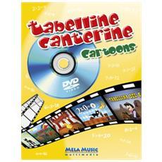Tabelline canterine cartoons. Ediz. illustrata. Con DVD