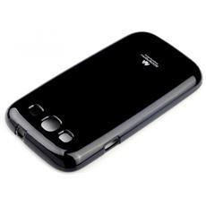 """Cover """"jellycase""""In Silicone Duro Hq Per Asus Zenfone 2 Laser Black / Nero"""
