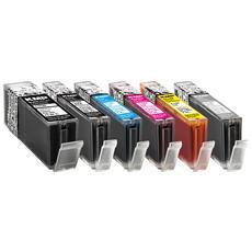 C107PIXV Multipack comp. con Canon PGI-570 / CLI-571 XL C / M / Y
