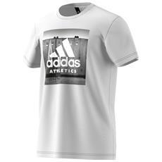 T-shirt Category Athletics Bianco Fantasia L