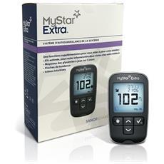 Bg Star Mystar Extra Kit Di Misrurazione Della Glicemia - Glucometro + Strisce + Lancette Pungidito - Bgstar
