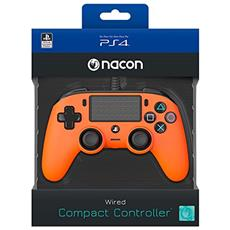 NACON Controller Wired Arancione PS4