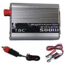 Power Inverter Da 500w 12v 220v Auto Camper Barca Campeggio Porta Usb E Pinze