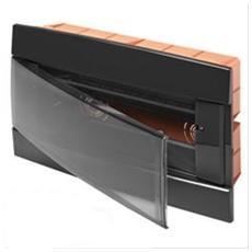 Centralino da Incasso 330X218X25mm 12 Moduli Nero