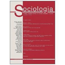 Sociologia. Rivista quadrimestrale di scienze storiche e sociali (2002) . Vol. 2